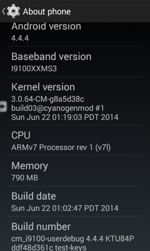 CM 11 official 22 Jun Android build