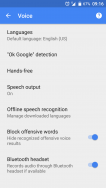 Google Search offline language pack